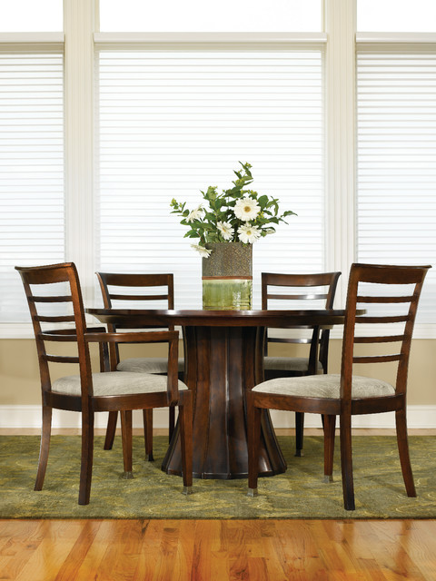 Stickley Dining Room Furniture: Stickley Round Dining Table Traditional-dining-room