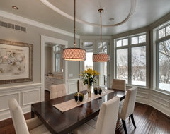 STONEWOOD, LLC - Private Residence - Orono, Minnesota traditional-dining-room