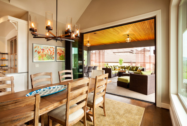 Street of Dreams - American Spirit - Contemporary - Dining Room - portland - by Garrison ...
