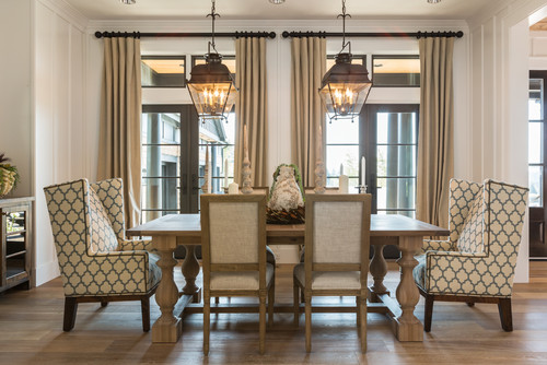 A Pair Of Lovely Lantern Lights Beckons You To The Dining Table Photo Credit