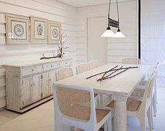 Marcelo Brito & Pedro Potaris - Sao Paulo - Brazil rustic-dining-room