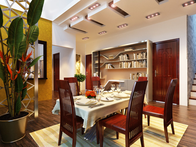 Stunning Dining Room Design 3D Interior Ideas Scene Modern