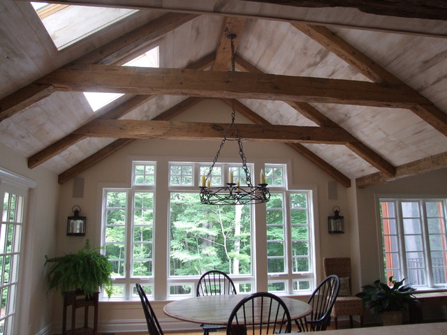 Style 1 The Barn Beam Traditional Dining Room New