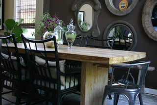 Stylish Responsibility Dining area transitional-dining-room