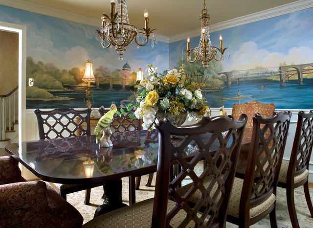 stylish simplicity traditional dining room