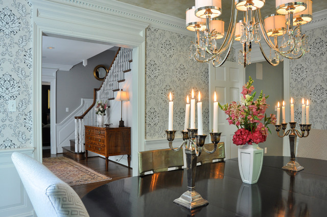 Suburban DC - Cahill Residence traditional-dining-room