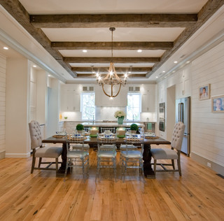Sullivan 39 S Island Beach House Traditional Dining Room Charleston By Ink Architecture
