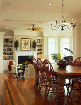 Sullivans Island traditional-dining-room