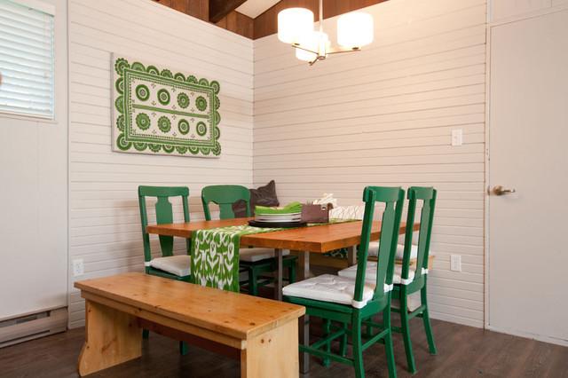 Summer Homes contemporary-dining-room