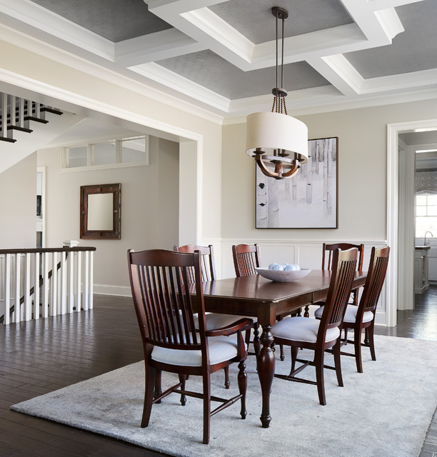 Summit Signature Homes Inc Contemporary Dining Room