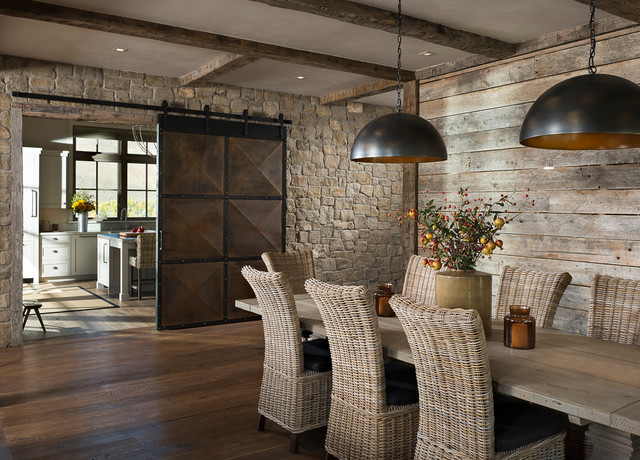 sun valley 2015 rustic dining room