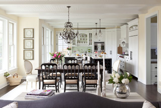sunnyside road residence kitchen 5 traditional dining room minneapolis by martha ohara interiors - Open Dining Room