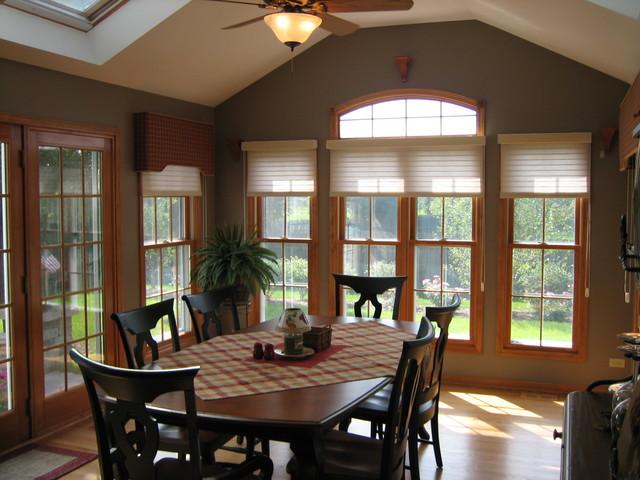 Sunroom addition - Dining room additions ...