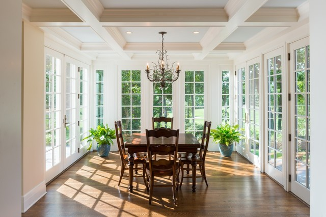 sunroom traditional dining room new york by mcc