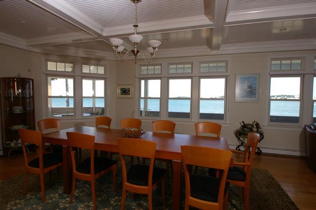 ... Hull ma - Beach Style - Dining Room - boston - by Duxborough Designs