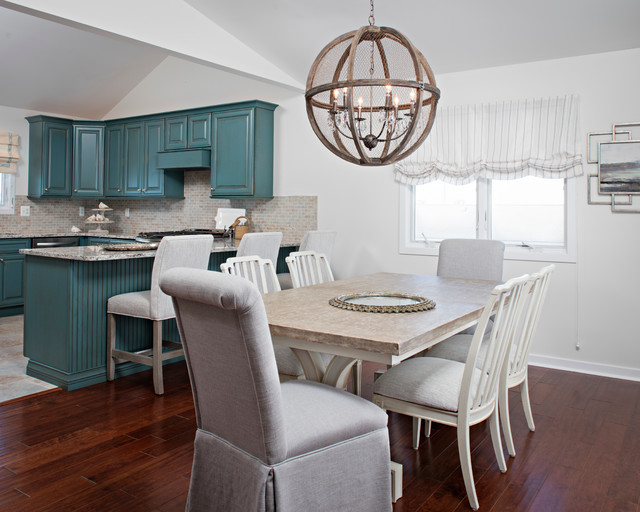Surf City transitional-dining-room