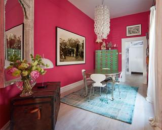 Sydney Harbour Paint Company Interior Distemper Dining Room New York By Mccollum Interiors