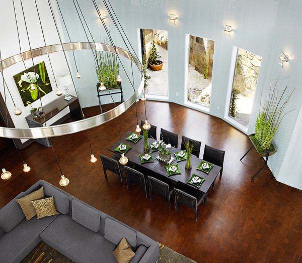 Symphony Showhouse contemporary dining room