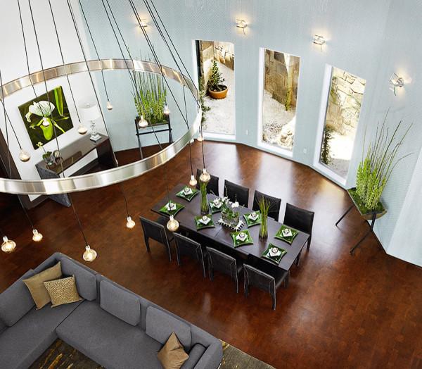 Symphony Showhouse contemporary-dining-room