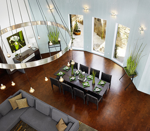 Sustainable floors new cork and bamboo flooring ideas for Can you change the color of bamboo flooring