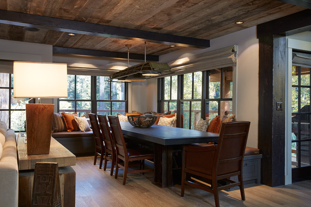 Tahoe Retreat Rustic Dining Room San Francisco by Artistic