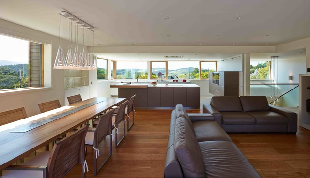 Taigh Sonas Contemporary Dining Room Glasgow By
