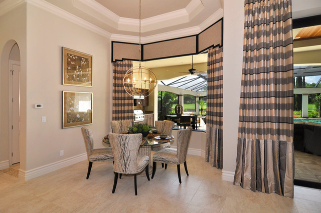 Talis Park Villa Lante Model Transitional Dining Room