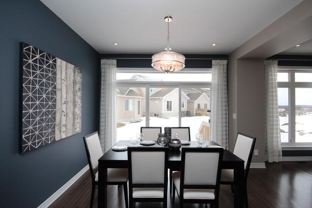 Tamarack Homes' Devon Model contemporary-dining-room