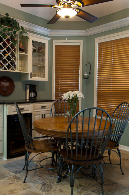 Tampa Bay Area Traditional Dining Room