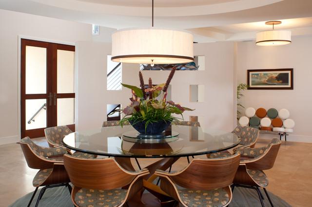Tanya Burley Design contemporary-dining-room