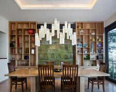 Tanzania Chandelier contemporary-dining-room
