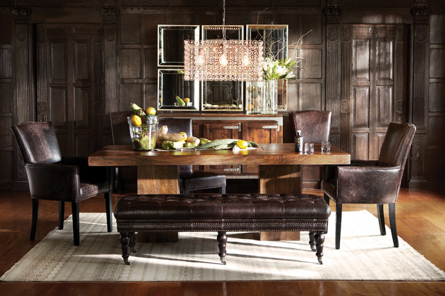 Ex&le of a trendy dining room design in Cleveland & Tao Collection - Contemporary - Dining Room - Cleveland - by Arhaus