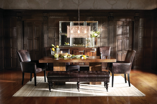 tao dining table eclectic dining room cleveland by arhaus. Black Bedroom Furniture Sets. Home Design Ideas