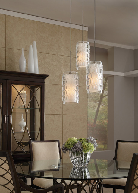 Awesome Tech Lighting 700TDLIZGPCS Liza Grande Satin Nickel Pendant Contemporary  Dining Room