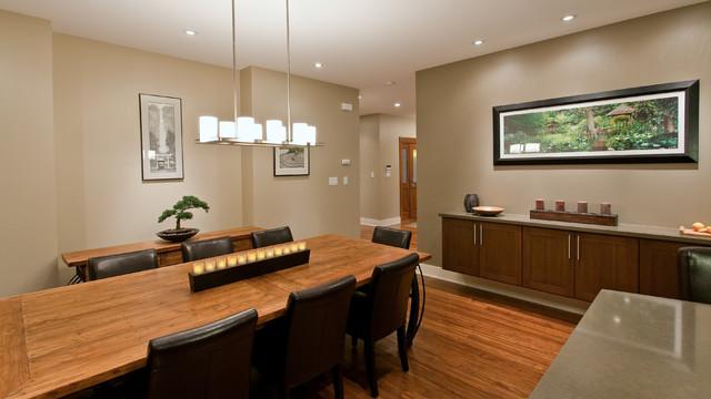 Teevan Residence contemporary-dining-room