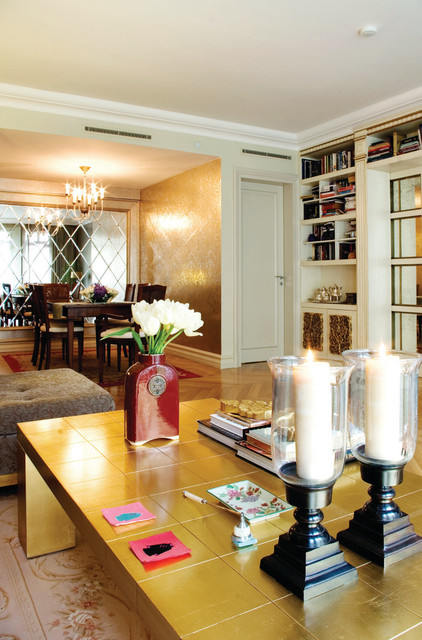 tekfen residence eclectic-dining-room