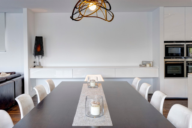 Templestowe Project Modern Dining Room Melbourne By Urban Kitchens