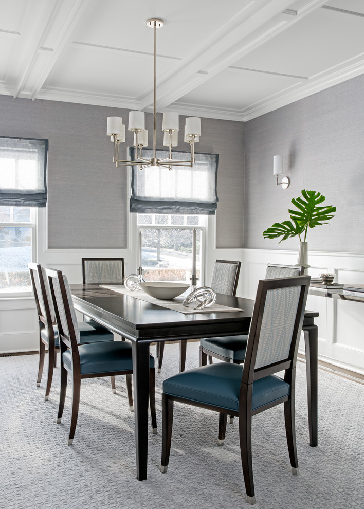 Tenafly Family Home - Transitional - Dining Room - New ...