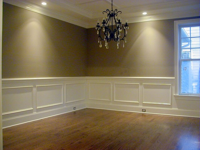 Tenafly nj home renovations dining room new york by for Dining room decorating ideas with chair rail