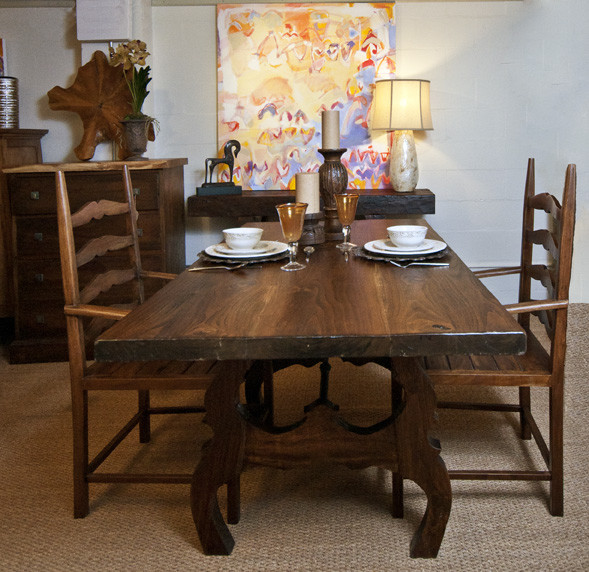 texas tuscan furniture designs traditional dining room