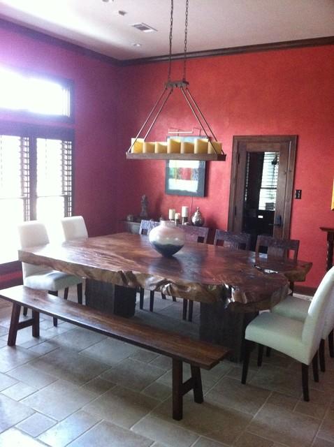 Texas Tuscan Furniture Designs modern-dining-room
