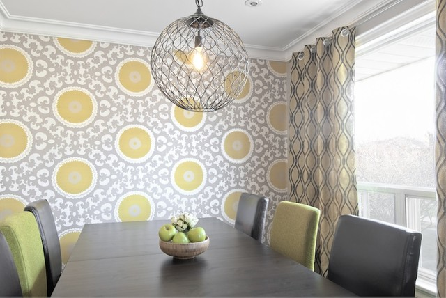 Texture Pattern Colour Contemporary Dining Room