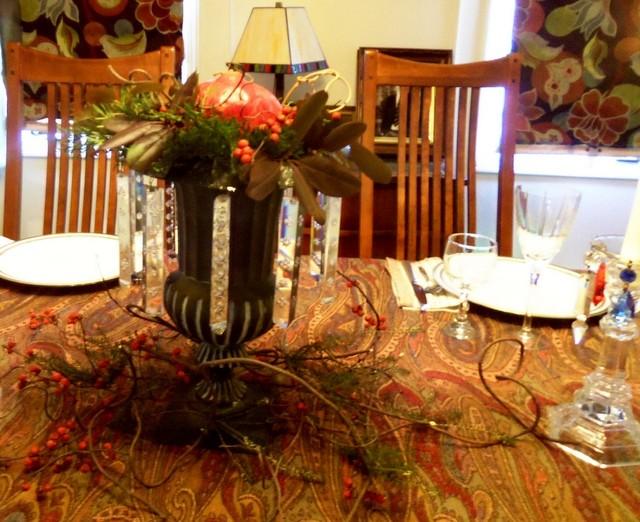 Thanksgiving Traditional Dining Room boston by AW  : traditional dining room from www.houzz.com size 640 x 522 jpeg 107kB