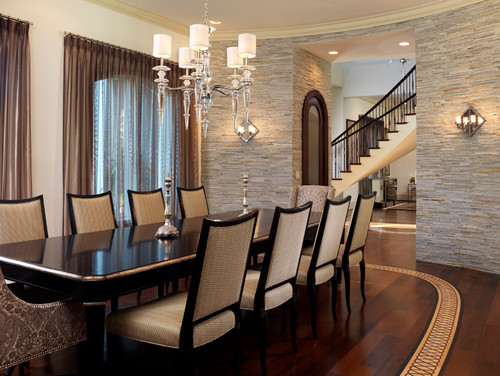 With So Many Stones Available Theres Sure To Be A Natural Stone Accent Wall Thats Perfect For The Style Of Your Formal Dining Room