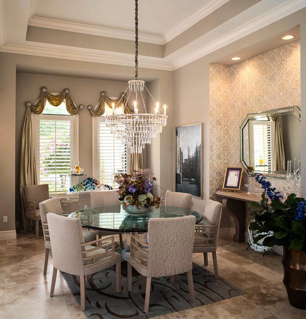 Transitional Dining Room Design Ideas: The Arabella