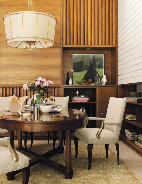 The Barbara Barry Collection Baker Furniture Traditional Dining Room
