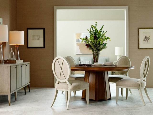 The Barbara Barry Collection - Dining Room - Transitional - Dining Room - milwaukee - by Baker ...