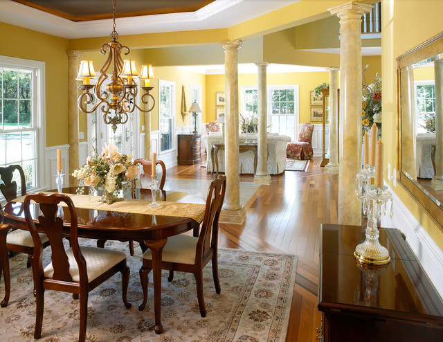 the Barnabys' Residence traditional-dining-room
