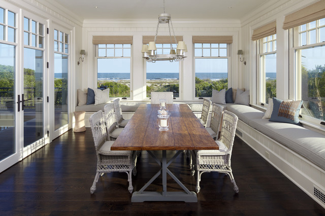The Beach House Beach Style Dining Room Charleston by The