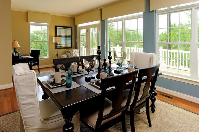 The Bracken Model, Rockville MD traditional-dining-room